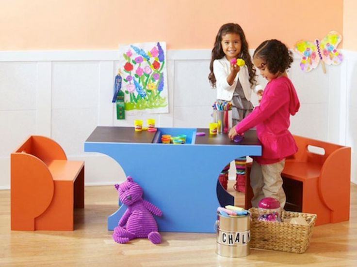 DIY Children's Play Table — Lowe's Idea Library
