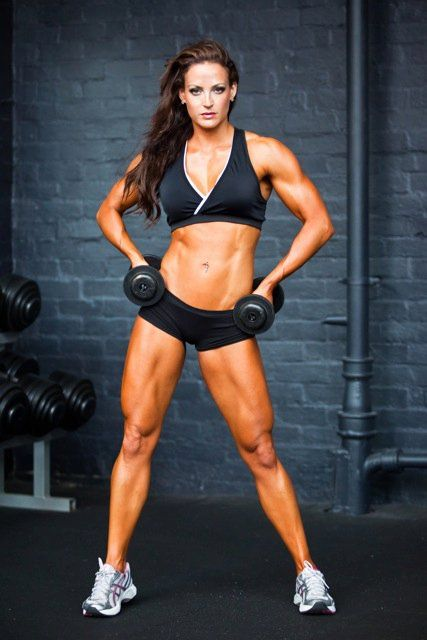 Erin Stern, her legs are a little too big, but her abs are amazing!