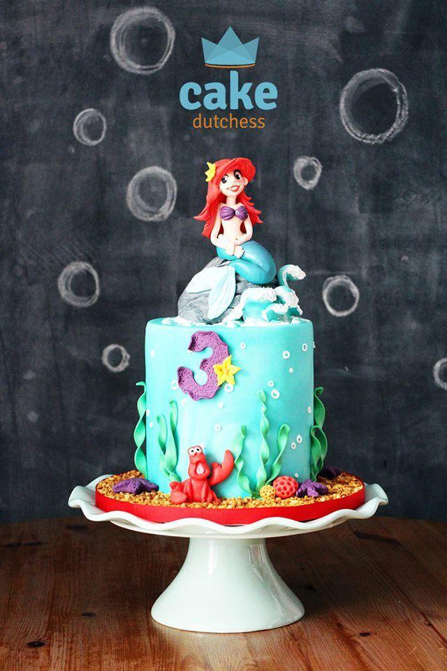The Little Mermaid – Cake Topper Timelapse - Cake Dutchess