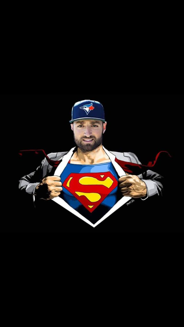 Kevin Pillar could be Superman, you never see them together #NoCoincidence #LetsGoJays