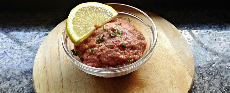 La ricetta della tartare di carne #steak #tartare #recipe