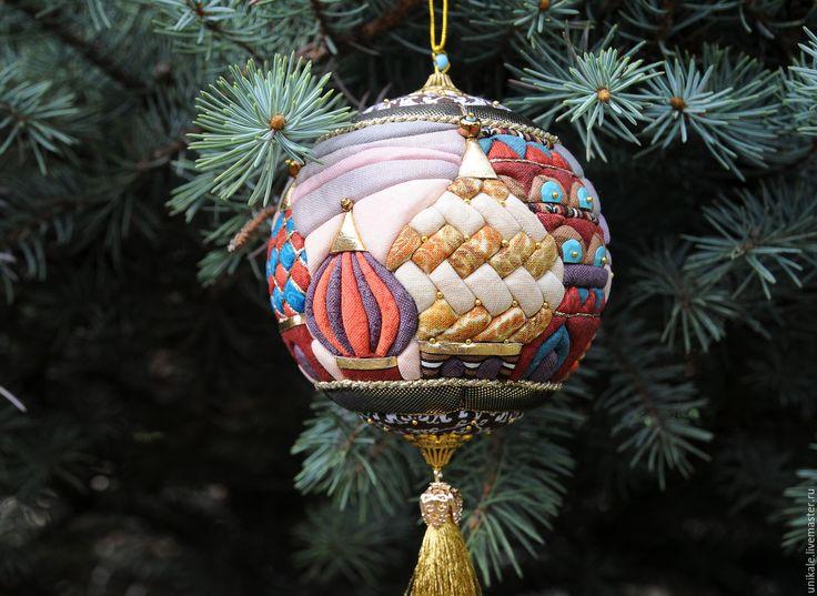 """Купить Новогодний шар """"Москва"""" - новогодний шар, коллекционный шар, handmade, ручная работа"""