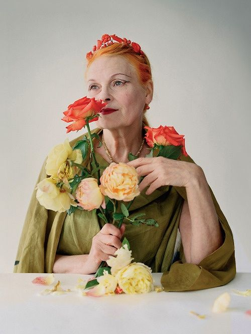 Vivienne Westwood is an inspiration - (photo by Tim Walker for British Vogue 2009)