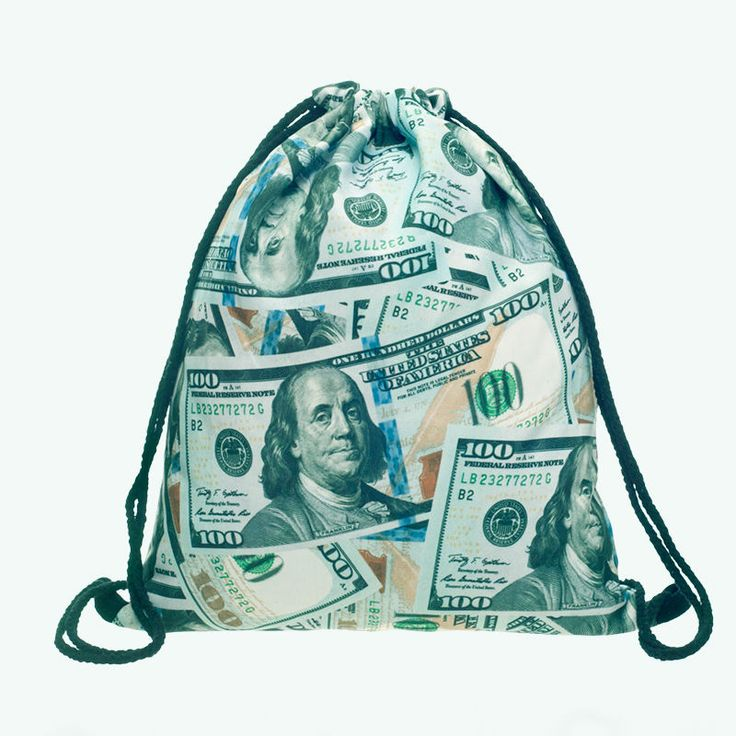 Dollar Money 3D Bag //Price: $8.00 & FREE Shipping //     #hashtag1