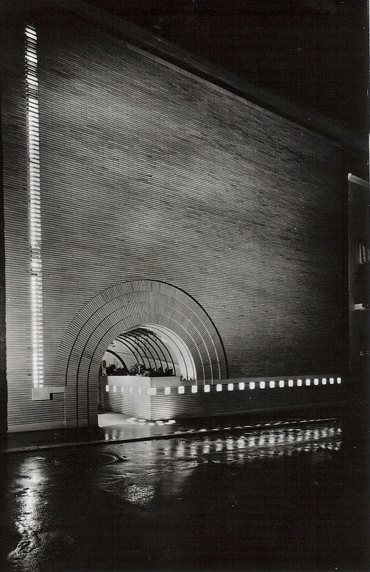 V.C. Morris Store, San Francisco, Frank Lloyd Wright, 1948.