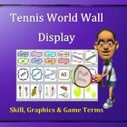 This Tennis Word Wall Display has been uniquely developed as a valuable and attractive visual aid for teaching skill-based sport units in physical ...