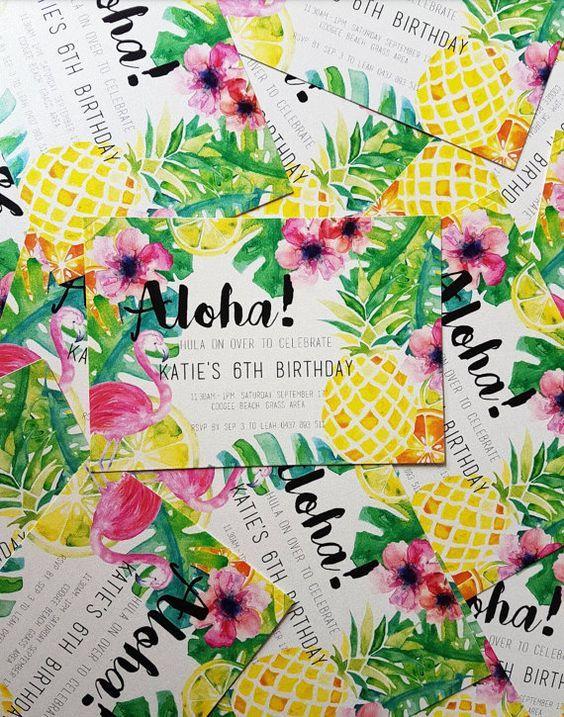 Fiesta hawaiana ideal para este verano http://comoorganizarlacasa.com/fiesta-hawaiana-ideal-este-verano/