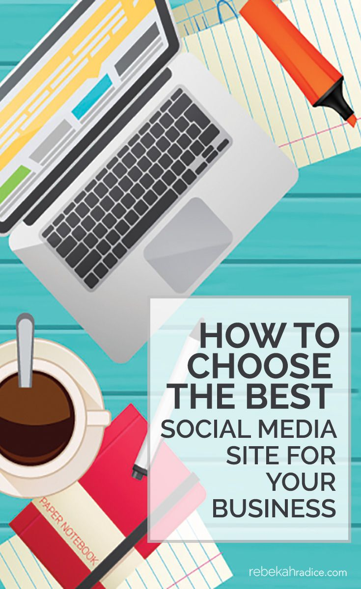 How to Choose the Best Social Media Site for Your Business