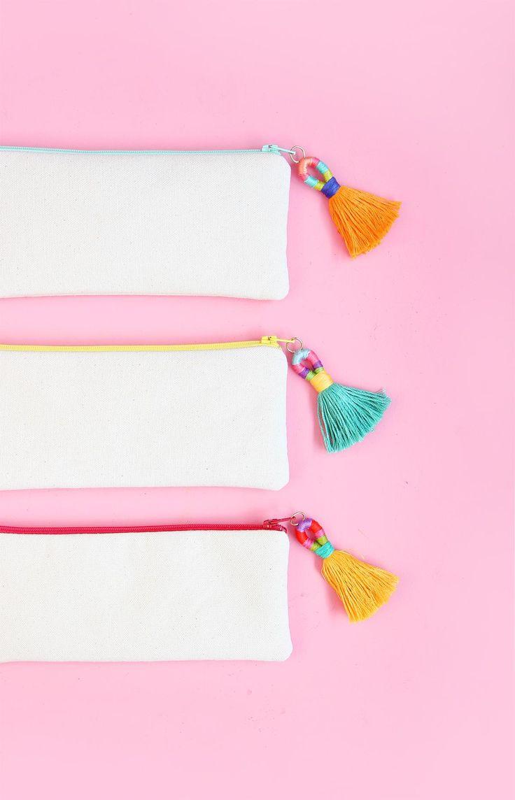 We love a good tassel. DIY: Hula Tassels