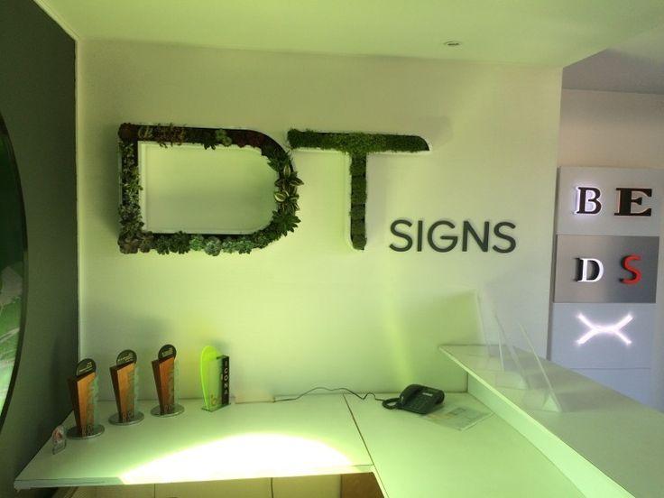 Logo végétalisé DTsigns