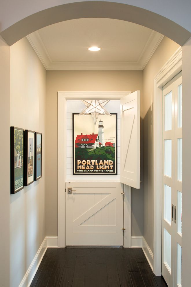 464 best images about ceiling lights on Pinterest | Hanging lights ...:Dutch Door, Interior Dutch Door, Dutch Door to mudroom, Wall paint color is  Benjamin Moore Silver Chain and Dutch Door and trim paint color is Benjamin  ...,Lighting