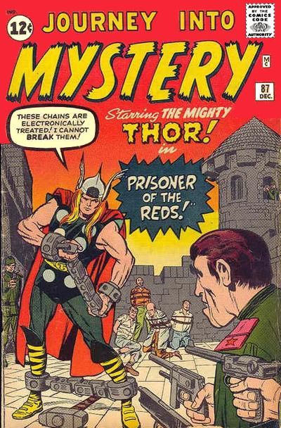 Journey Into Mystery #87. Thor in chains. #Thor #JourneyIntoMystery