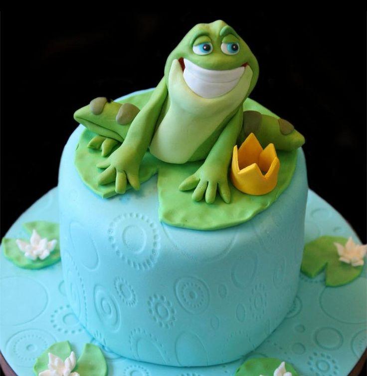 Balfours Frog Cake Wedding Cake