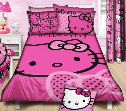 Cool Hello Kitty Bedroom Design Ideas