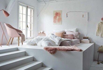 Slaapkamer idee voor een grote ruimte!