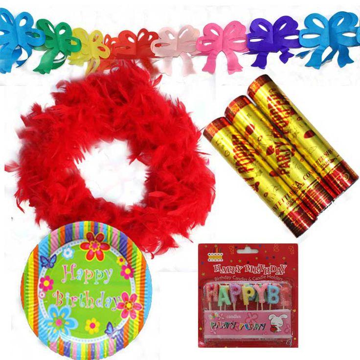 OTRİJLİ  Doğum günü Seti / Hazır Party Seti,  Birthday Box for a colorful party