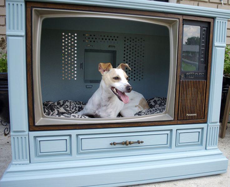 Doggie Bed. $250.00, via Etsy..... Super cool idea