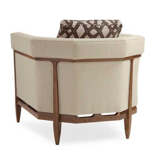 Caracole Bigelow Chair | Chairs | Living Room | Furniture | Candelabra, Inc.