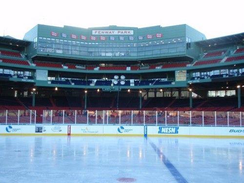 Best Outdoor Ice Skating Rinks In Massachusetts (Fenway Park)