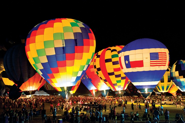 Each July, the sky above Longview turns predictably polka-dotted when the Great Texas Balloon Race (GTBR) fills the air with dozens of brightly colored hot air balloons.: Balloon Racing, Longview Texas, Balloon Festivals, 2015 Balloon, Texas Balloon, Annual Hot, Hot Air Balloons, Longview Hot, Balloons Up