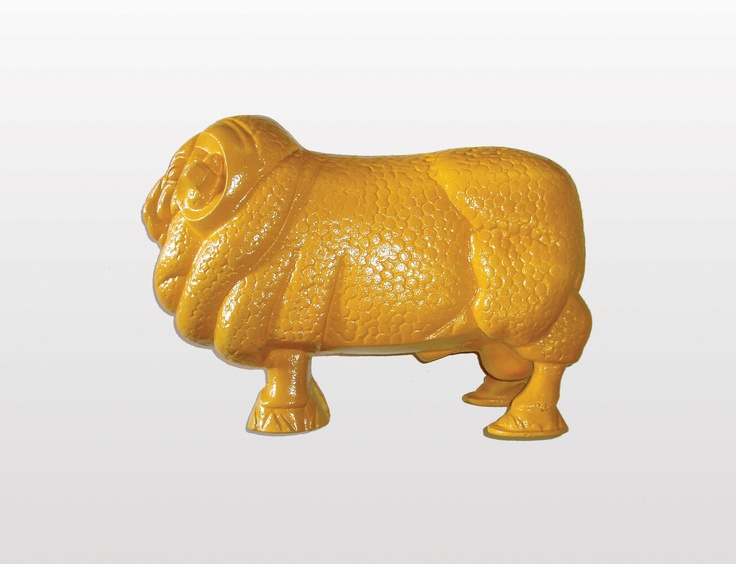 Golden Fleece ram figure: an Aussie icon, the golden fleece rams sat atop the refueling points in days of old.