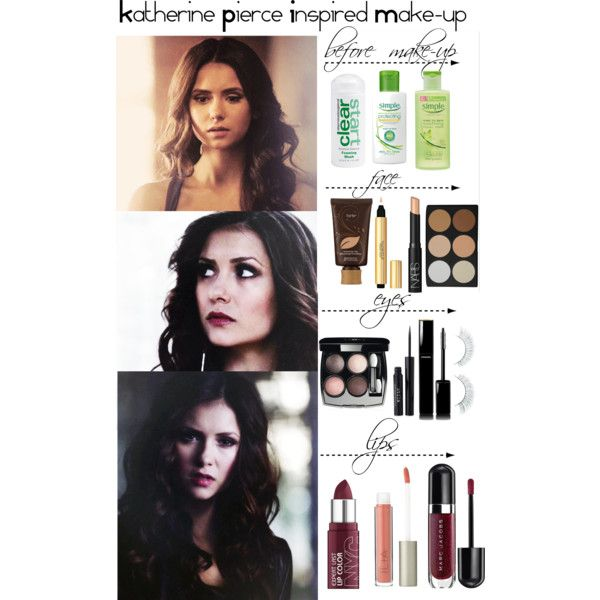 The Vampire Diaries - Katherine Pierce Inspired Make-up by staystronng on Polyvore featuring beauty, Ilia, Chanel, Marc Jacobs, tarte, Napoleon Perdis, Stila, NARS Cosmetics, Dermalogica and Simple