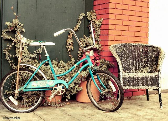 Vintage Banana Seat Bike 23