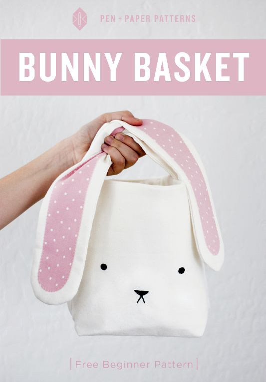 Looking for your next project? You're going to love Bunny Easter Basket by designer Lindsey Neill.