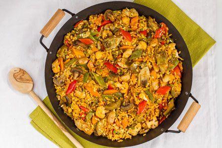 Ricetta Paella vegetariana - Le Ricette di GialloZafferano.it