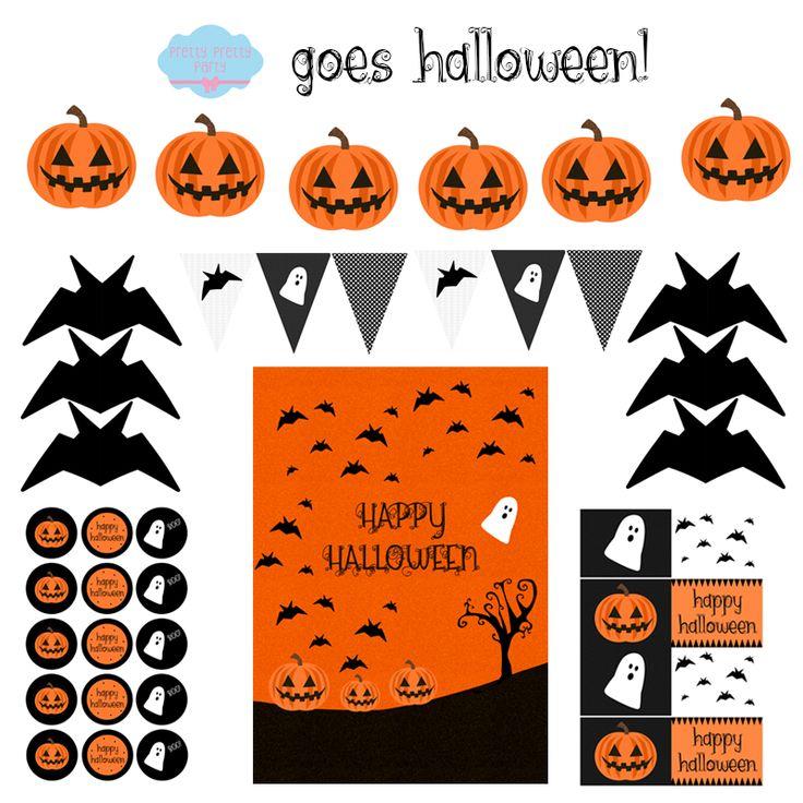 Halloween koristeita...