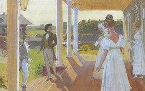 «Евгений Онегин». Иллюстрация Д. Белюкина