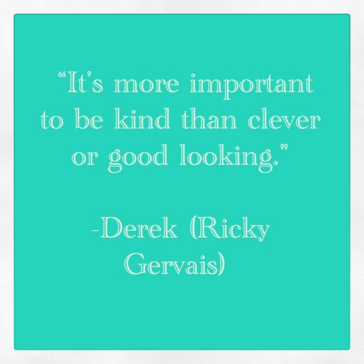 I always loved Ricky Gervais but I love him even more for his role of Derek! You are a genius Mr. Gervais! 'Kindness Is Magic'