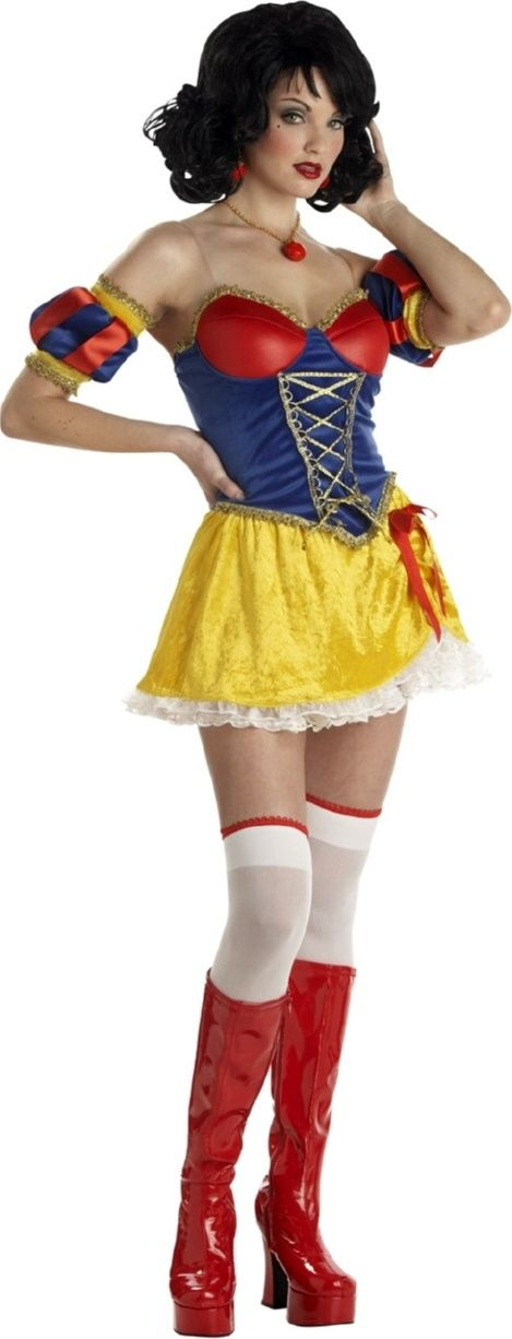 Snow White Women's Sexy Fancy Dress Costume