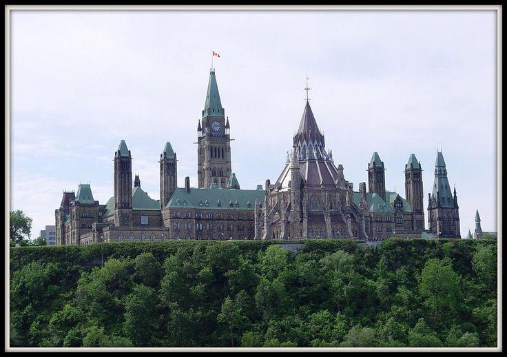 Ottawa Parliament Building | Parliament House, Ottawa (back view)