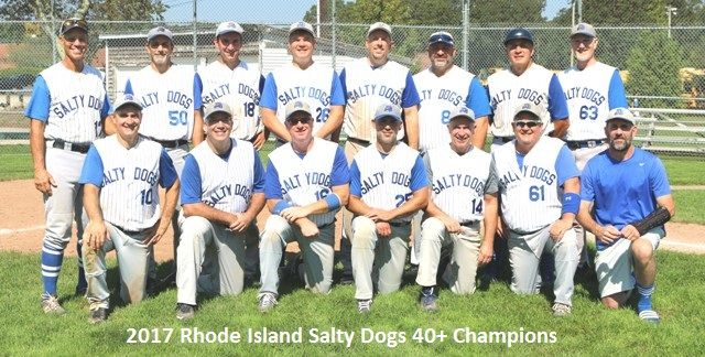 My Recent Post About The Ri Men S Senior Baseball League Baseball League Salty Dog League