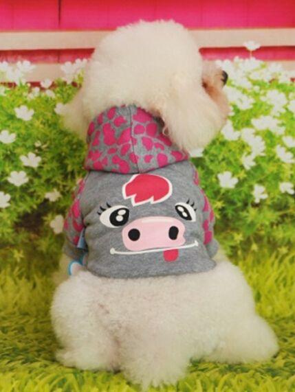 Одежда для животных pet пальто одежда для собак пальто собаки товары для животных собака одежда мультфильм свитер, с капюшоном