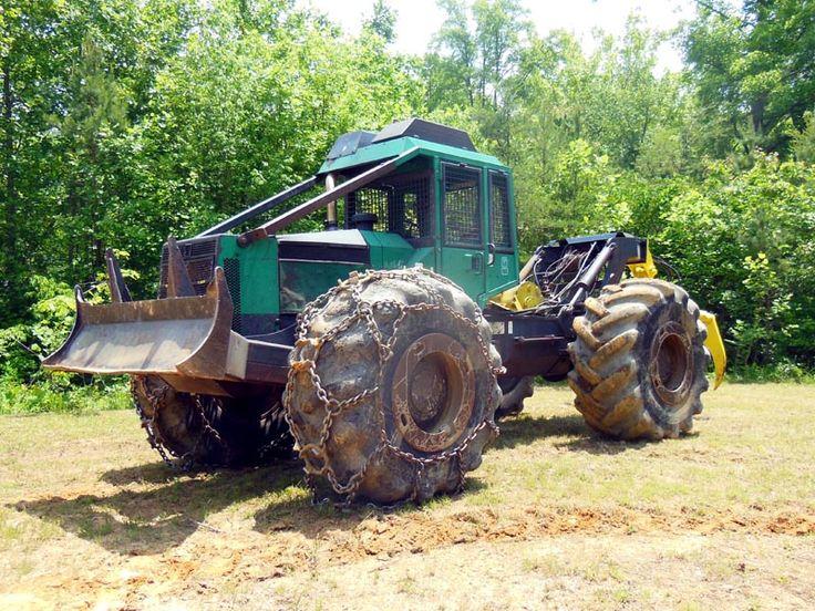 logging skidders | 1994 Timberjack 450C Grapple Skidder. 30.5-32 tires, new chains on ...