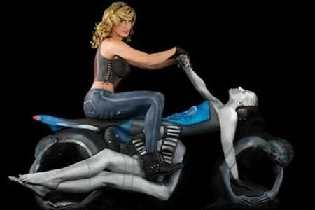 10 Most Amazing 3d Body Paintings (3d painting, body painting art) - ODDEE