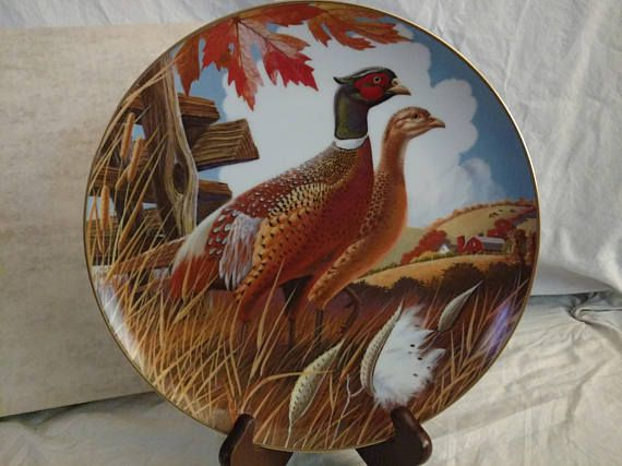 World of Game Birds by Fairmont Collectible Plate Larry