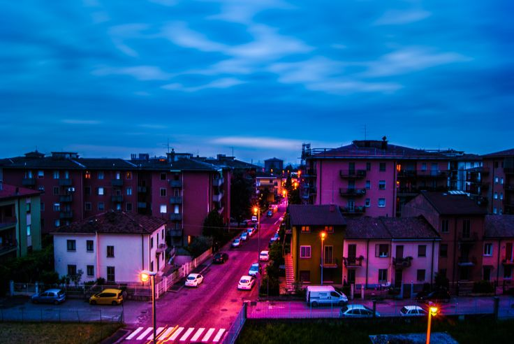 Blue hour in Verona. by Beatrice  on 500px