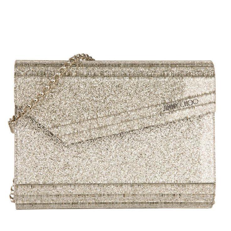 Jimmy Choo Jimmy Choo Tasche – Candy Clutch Acryl Champagne – in gold, silber – Abendtasche für Damen