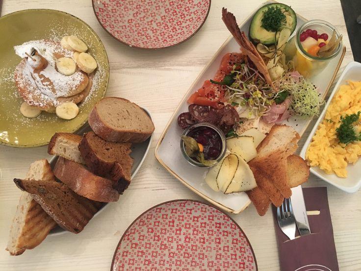 Frühstücks Tipp Berlin  Die Stulle: Pancakes und Frühstück für Zwei Berlin Charlottenburg