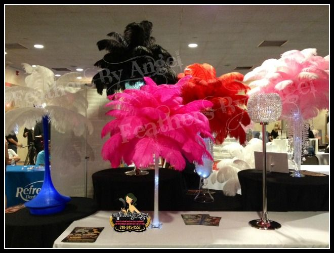 Feather Centerpieces For Rent : Best wedding ideas images on pinterest ostrich
