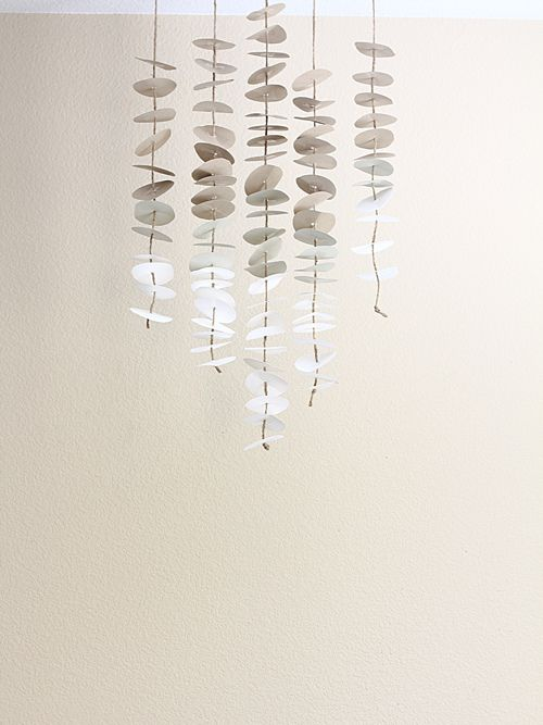 paper mobile via you are my fave: Paper Garlands, Paper Art, Paper Mobile, Inspired Paper, Circles Mobile