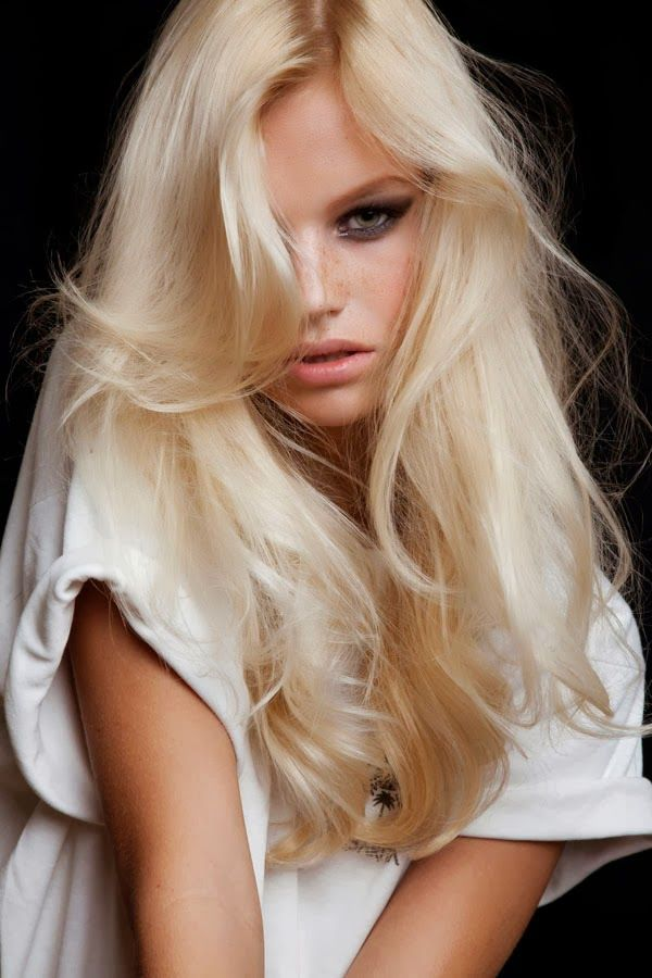 Platinum Ash Blonde Hair | Bleach-blond styles are best for sunlight fun .Team your sunny blond ...