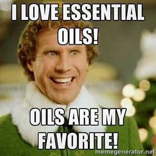 Christmas in July! Haha love my essential oils! Oils are my favorite! There's an oil for that!
