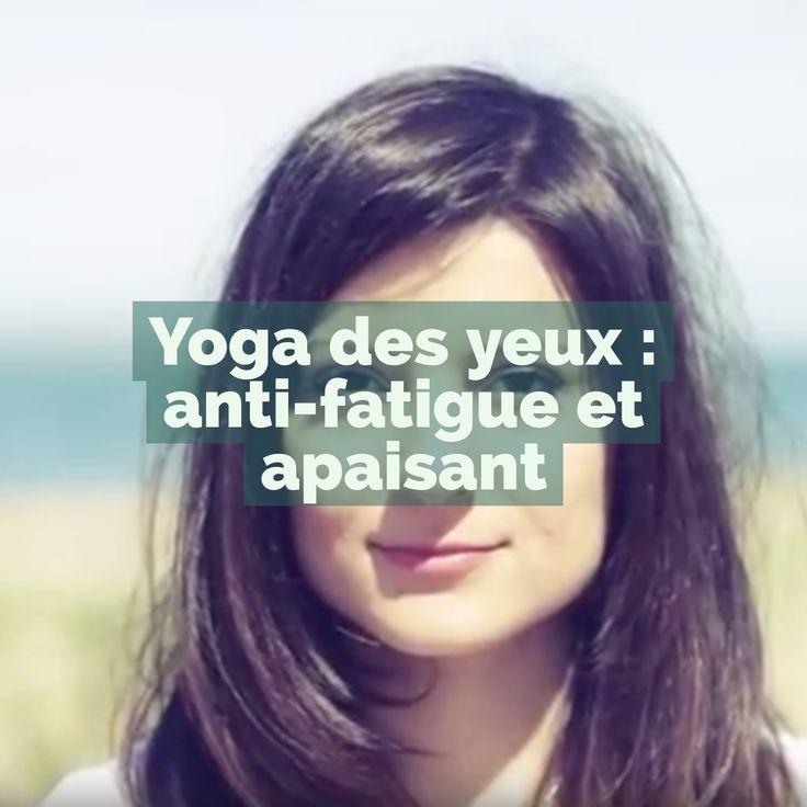 Cette séance de yoga pour les yeux proposée par Louis Yagera a des effets étonnants que vous travailliez sur un écran ou pas : anti-fatigue, relaxant, apaisant et libérateur.