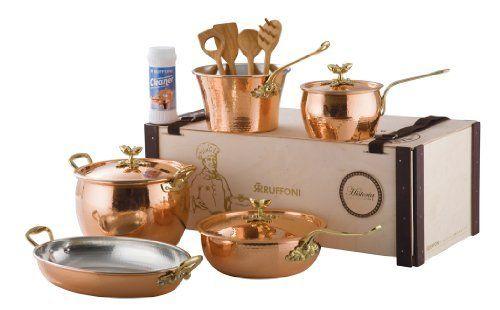 Ruffoni copper cookware williams sonoma