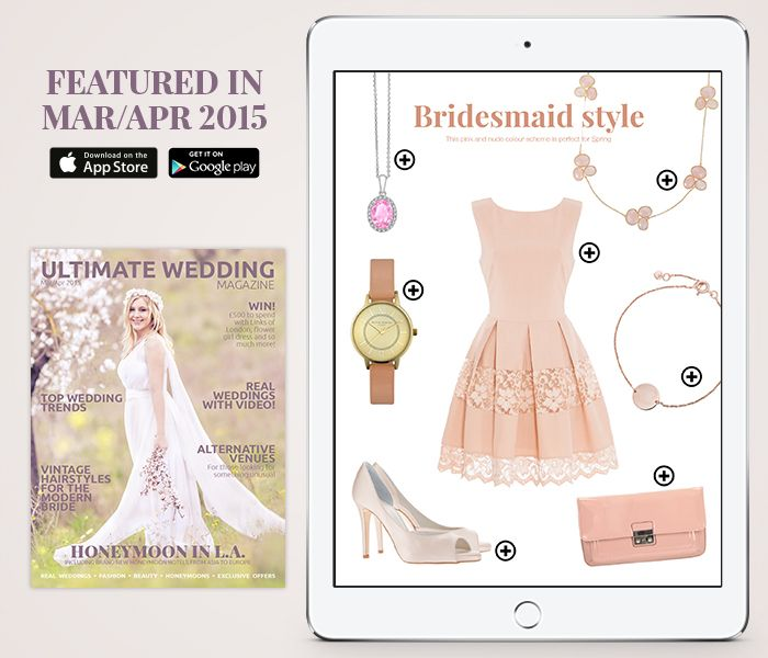 Spring is perfect for a pink pastel shade for #bridesmaids! #wedding