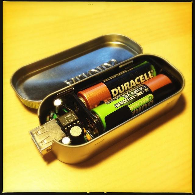 DIY mini USB charger